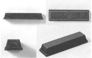 キットカットの立体商標(jplatpatより)