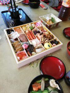 福田家のお正月の食卓